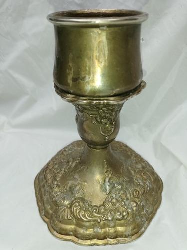lindo candelabro de plaqué