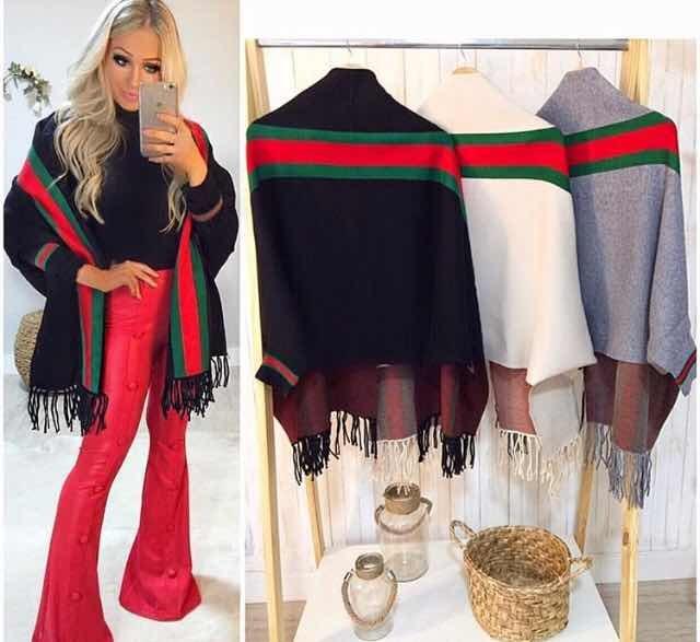 e603b41965f Lindo Cardigan   Kimono   Mantela Cores Gucci Inspired! - R  89