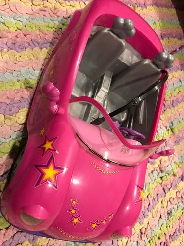 lindo carro para dos barbies