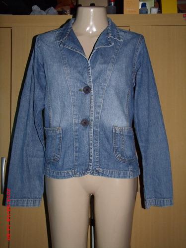 lindo casaco jeans  clock house    ( fem) tam: 42