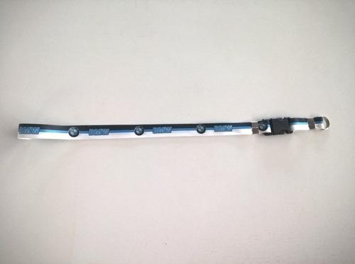lindo chaveiro de cordão 50 cm com a logo da marca da bmw