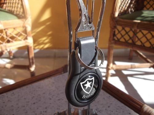 lindo chaveiro do botafogo futebol cl em silicone emborracha