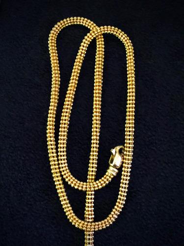 lindo colar ouro 20k-0800 - 16.8gr. 43cm italiano.