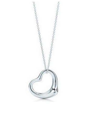 ad1dbb433739 Lindo Collar De Bisutería Fina Forma Corazón Dije Colgante -   44.00 ...