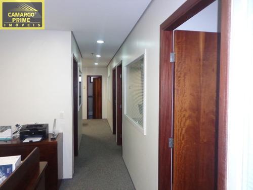lindo conjunto comercial com 120 metros de área útil - eb81371