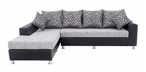 lindo conjunto de sofá 3 lugares chaise