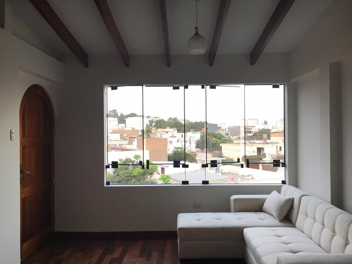 lindo departamento último piso (4to). san isidro.
