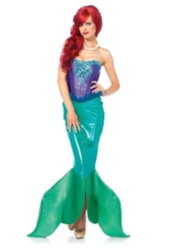 lindo disfraz sirenita incluye peluca talla 10-12