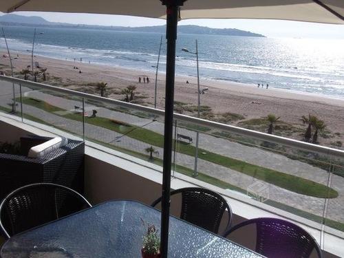 lindo dpto frente a la playa av del mar 5pers piscina cable