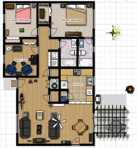 lindo e aconchegante lugar para morar com a família 006