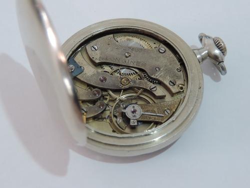 ffe2c82a429 Lindo E Antigo Relógio De Bolso Suiço Marca Longines - R  780