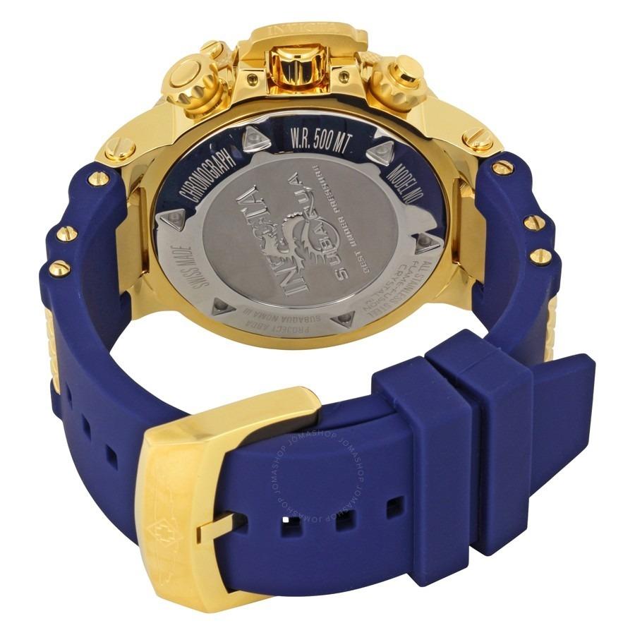 5d88035cc53 Lindo E20238 Relógio Invicta 5515 Dourado Azul Lindo Top !! - R  412 ...