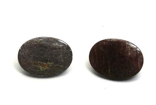 lindo lote 2 pedra preciosa rutilo natural 12,5klt p127