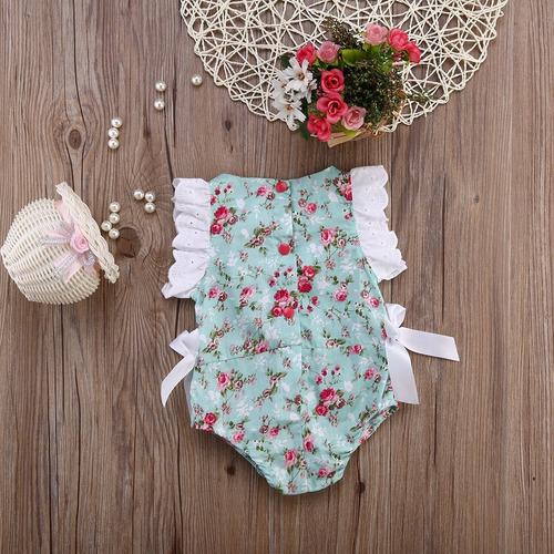 lindo macacão (body) floral - verão