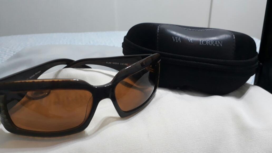 aadcaad3b Lindo Óculos De Sol Via Lorran. Italian Design - R$ 229,90 em ...
