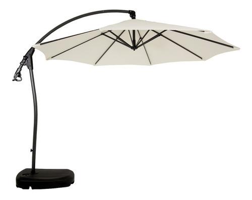 lindo ombrelone dubai com base e capa 3 metros mor