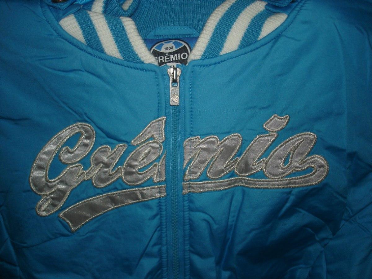 lindo parca - jaqueta feminina - azul - oficial do grêmio ! Carregando zoom. 0131acb2c7fd5