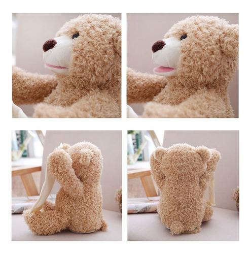 lindo play peek-a-boo oso de peluche de ocultar y buscar
