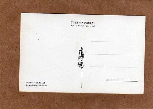 lindo postal antigo santos sp (p444)