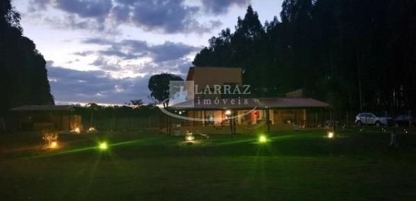 lindo rancho para venda em delfinopolis, 4 dormitorios sendo 1 suite em 2500 m2 de area total. condominio fechado com caseiro - ch00017 - 33381828