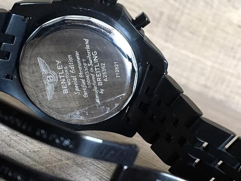 e5d348576ae lindo relógio breitling ed especial bentley. Carregando zoom.