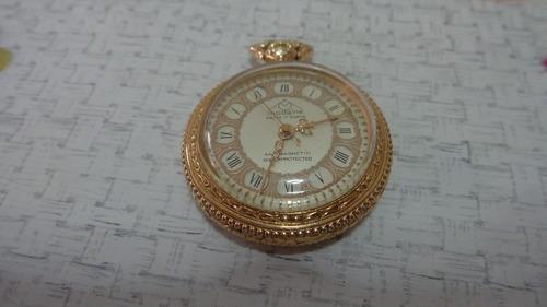 lindo relógio de bolso suiço marca mondaine