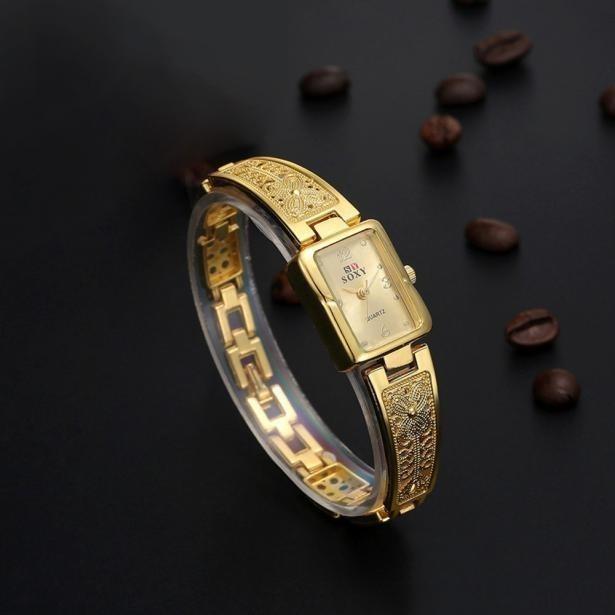 4d08c846c77 Lindo Relógio Feminino Delicado Em Aço Frete Grátis Promoção - R  70 ...