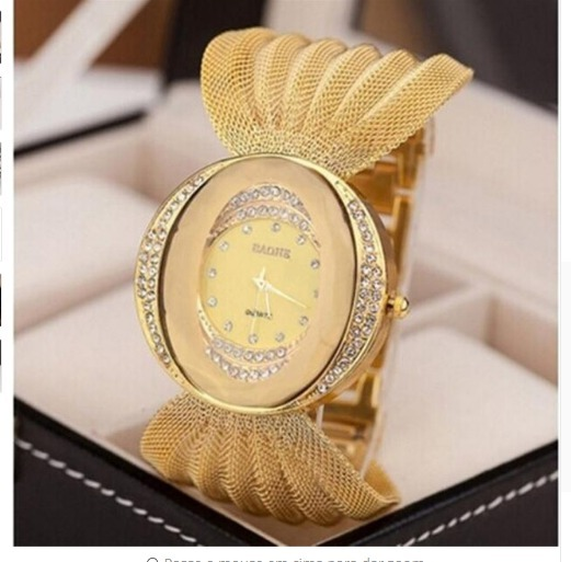 d22da9338f1 Lindo Relógio Feminino Luxo P  Mulheres Elegantes Importado  - R  89 ...
