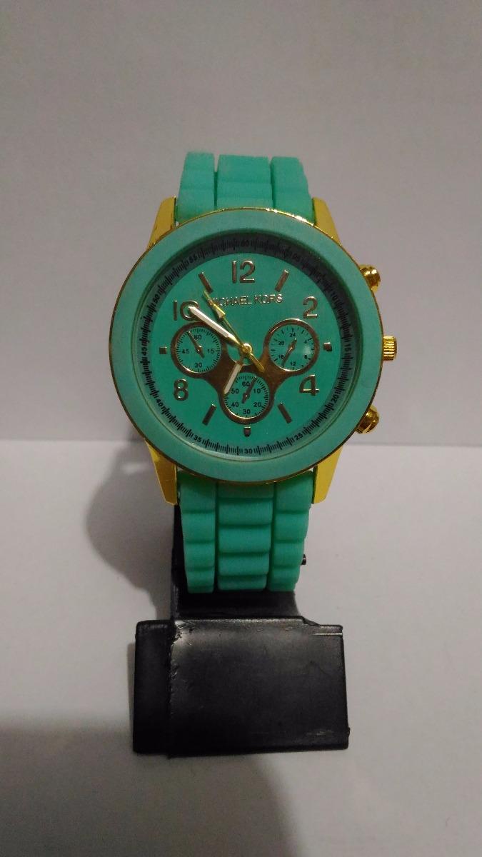b74ed963e0d lindo relógio feminino michael kors - verde água e dourado. Carregando zoom.