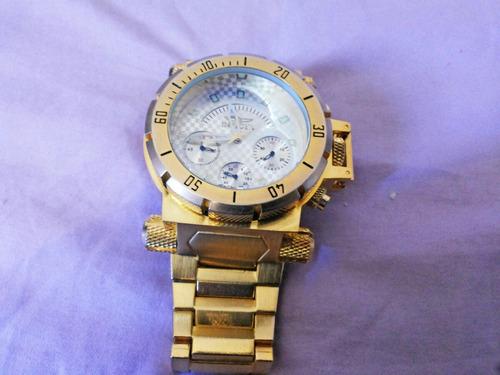 lindo relógio funk ostentação dourado