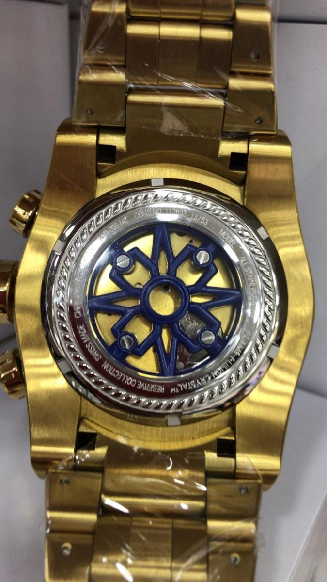 421e233427e lindo relógio invicta 12763 zeus bolt reserve caixa. Carregando zoom.
