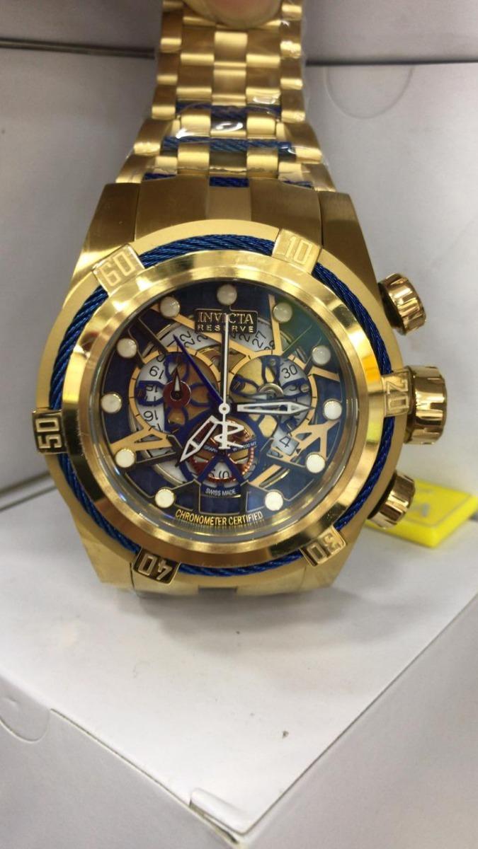 50addfaab28 lindo relógio invicta 12763 zeus bolt reserve caixa manual. Carregando zoom.