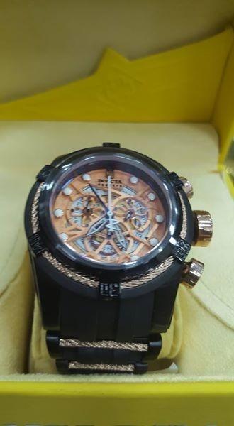 d324e89dd2b Lindo Relógio Invicta Zeus Bolt Preto Borracha Lançamento - R  896 ...
