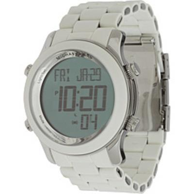 4b84a65e4bf Lindo Relógio Michael Kors Digital Branco Mk9004 Original - R  379 ...