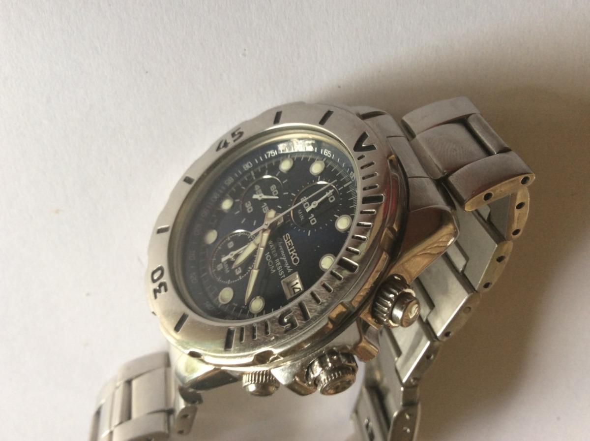 ce8ebc5a77f Lindão Relógio Seiko 1ª Linha