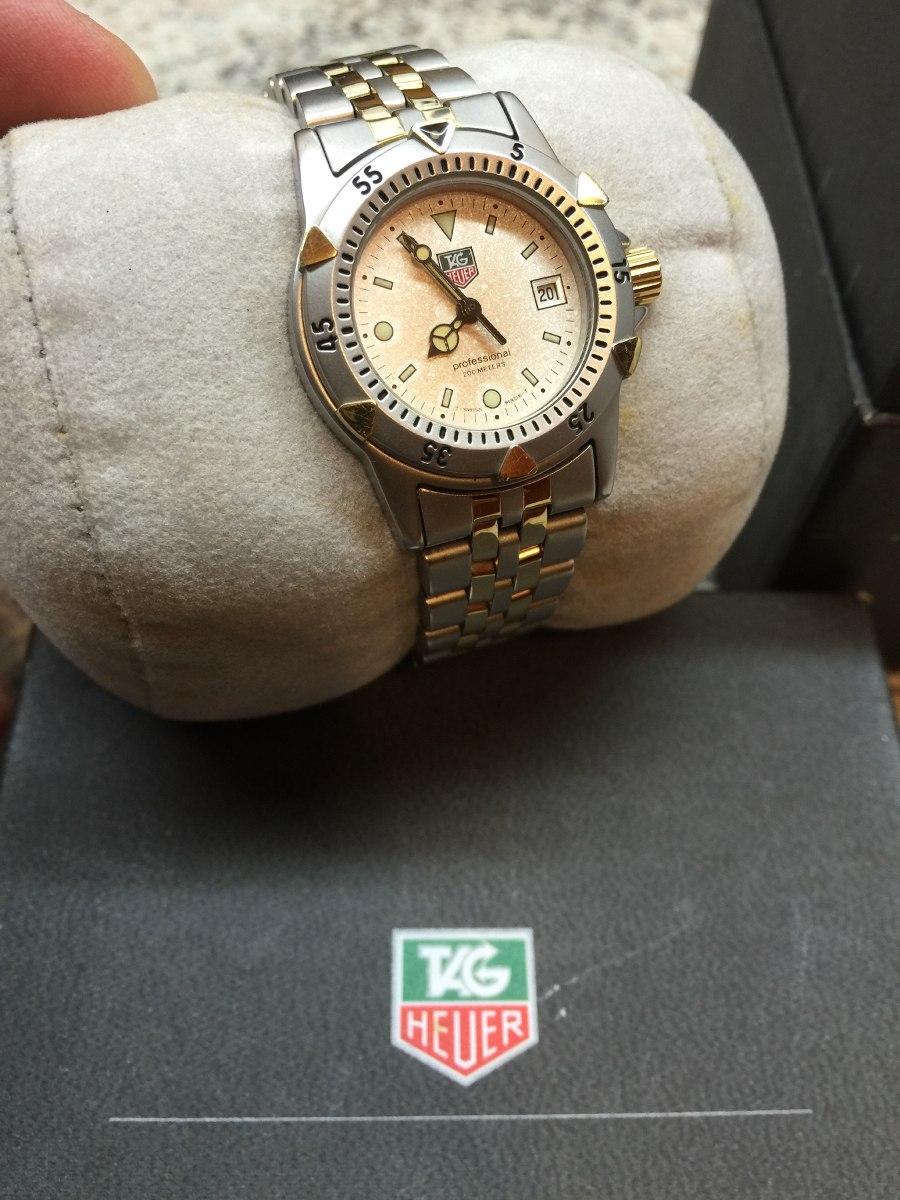 2cb902948d9 lindo relógio tag heuer feminino serie - perfeito banho ouro. Carregando  zoom.