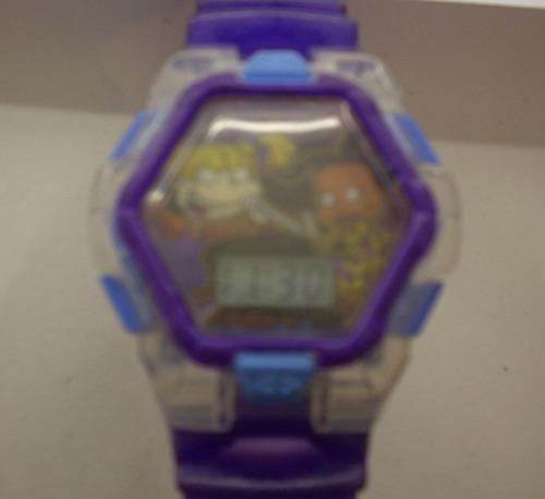 lindo reloj de los  rugrats .- regalado!!