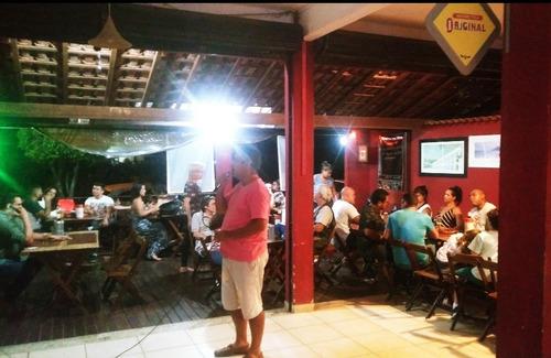 lindo restaurante/barzinho completo!! aceito propostas