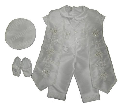 lindo ropon bautizo pantalon chalequito camisa toga zapatos
