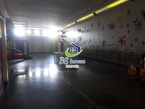 lindo salão comercial com 2 pavimentos - 6864