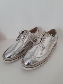 21e669380b Sapato Oxford Zara Feminino - Sapatos com o Melhores Preços no Mercado  Livre Brasil