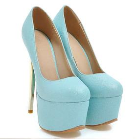 15b74dd8d3 Salto Alto 16 Cm - Sapatos no Mercado Livre Brasil
