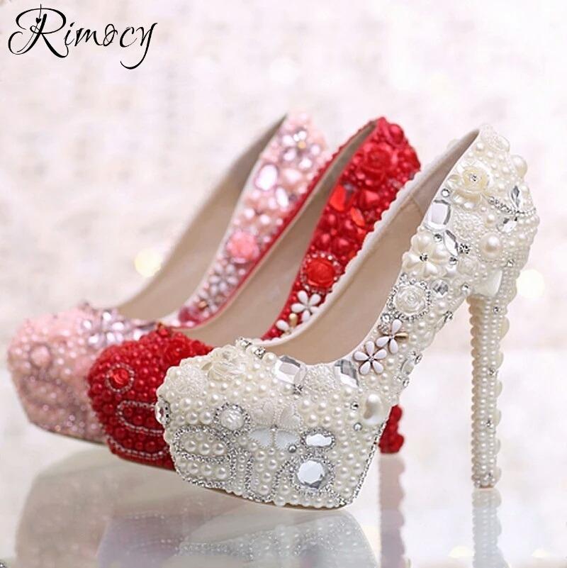 186b18782 lindo sapatos plataforma festa casamento perola debutante. Carregando zoom.