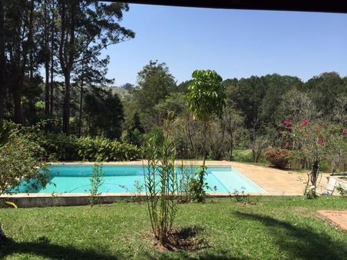 lindo sitio 26.000 m² a/t 4 suítes, piscina espaço gourmet