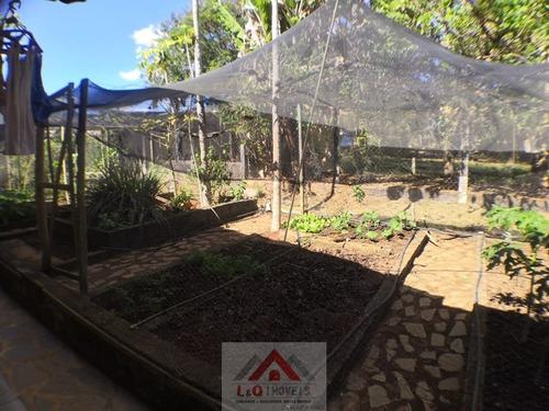 lindo sitio a venda com pomar, piscina e cozinha mineira - 3658