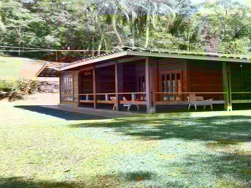 lindo sítio com 5 alqueires casa de madeira com piscina