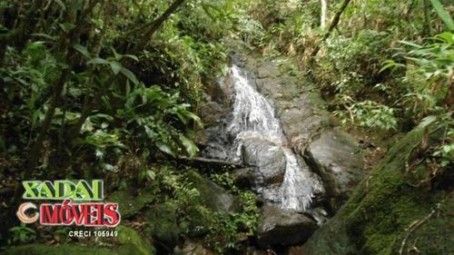 lindo sítio com muita água e cachoeira em são francisco xavi