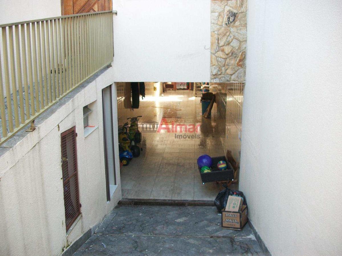 lindo sobrado 3 dormitórios quintal/área gourmet $479.500, - v7249