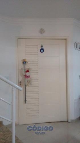 lindo sobrado 3 suítes - vila rosália. - 01059-1