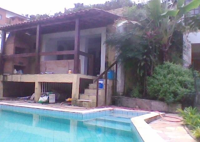 lindo sobrado c/4 dorms, com piscina  - cotia - ref 25282